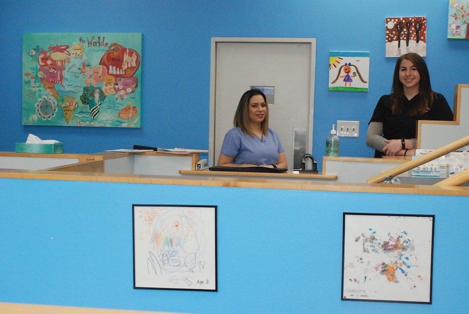 Pediatrician Michelle Kolsi Office Team